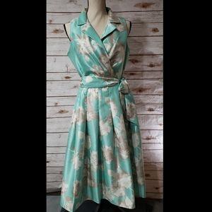 JH Vintage Style Sleeveless Dress - Size 10